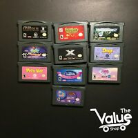 Lot of 10 Nintendo Gameboy Games - Star Wars Episode III, Need for Speed, & More