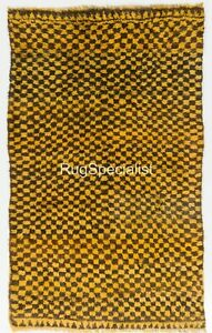 Contemporary Checkered Tulu Rug. CUSTOM OPTIONS Available