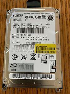 """Fujitsu 100GB HDD MHV2100AT 4200RPM SATA/IDE/EIDE 2.5"""" HDD Laptop Hard Drive"""