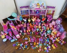 Lot of Hasbro My Little Pony Toys Ponies and Accessories