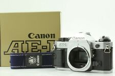 [Near MINT in BOX 】Canon AE-1 Program 35mm Film Camera Silver from JAPAN
