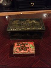 Two Delightful Antique Sweet Tins - Basset And Thornes