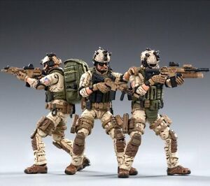 Joy Toy Armed Delta Force 3-Pack 1:18 Scale Action Figures - 1st SFOD-D