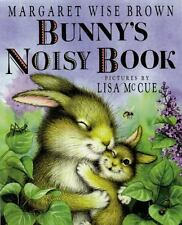 Bunnys Noisy Book by Margaret Wise Brown Board Book