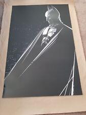 Craig Drake Dark Knight art print movie poster Batman DC Not Mondo