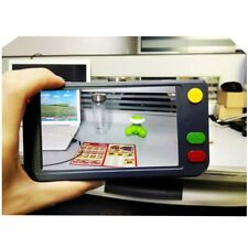 """2020 Low Vision Aid 5"""" LCD Handheld Video Magnifier Reading Magnifier Microscope"""