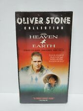 Heaven and Earth - VHS, 2001, Oliver Stone Collection Tommy Lee Jones, Joan Chen