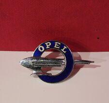 Original alte OPEL Zeppelin Emaille Brosche / Abzeichen Vorkrieg Top Zustand