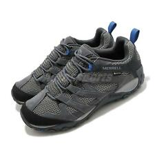Merrell Alverstone GTX Gore-Tex Grey Blue Men Outdoors Hiking Trail Shoe J034539