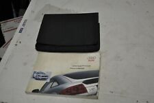 20 000006Bd 03 Audi Tt Coupe Hard Top Car Owners Manual Book has stains wear