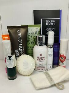 MOLTON BROWN GIFT SET 10 Piece - Unisex Luck Dip Bag Brand new BODY SHOP SPA