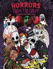 Adult Coloring Book Horrors from the Crypt Illustrated Halloween Nightmares