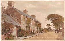 David Lloyd George's Boyhood Home. LLANYSTUMDWY, Caernarvonshire