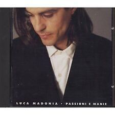 LUCA MADONIA - Passioni e manie - DENOVO CD 1991 COME NUOVO