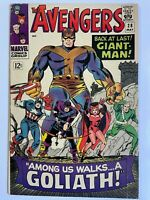 Avengers #28 1st App The Collector Iron Man Thor Captain America Marvel Comics