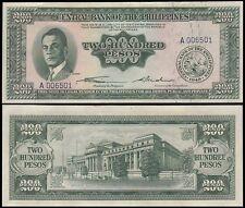 Philippines 200 Pesos, 1949, P-140, UNC