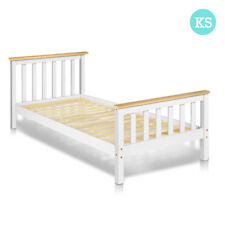 King Single Size Pine Wood Bed Frame