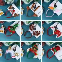 Party Christmas Headband Antlers Hairband Xmas Tree Hair Hoop Hair Accessories
