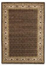 Tapis à motif Oriental persane/orientale traditionnelle en soie mélangée pour la maison