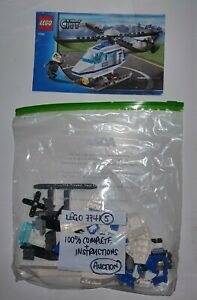 Lego 7741 Police Helicopter (5) - 100 % Complete