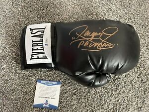 """Manny """"Pacman"""" Pacquiao Signed Autographed Everlast Boxing Glove BAS #AA48925"""