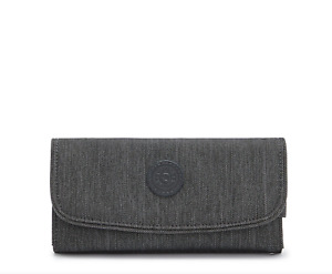 Kipling MONEY LAND Large Purse/Wallet BLACK PEPPERY  RRP £48