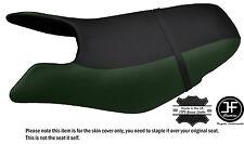 Black & d vert personnalisé pour seadoo gtx gti 97-01 avant vinyle housse de siège + sangle