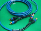 Monster Performance Car AUX BASS Audio two Channel Balanced DualHelix Cable 3m