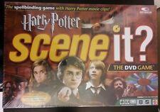 HARRY POTTER SCENE IT? DVD Board Game (2005) NIB