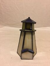"""Stained Glass 3-D LIGHTHOUSE 5"""""""