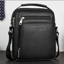 Men's Business Leather Shoulder/Messenger Bag 8