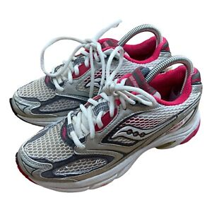 Saucony Phoenix 3 Womens Athletic Running Shoes Trainers Size 5.5 Silver Pink