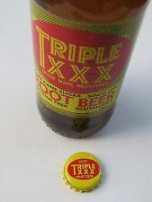 Beer Bottle Crown Cap >< TRIPLE XXX Root Beer Since 1895 ~ W. Lafayette, INDIANA