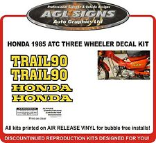 1976 HONDA CT90 TRAIL 90  DECAL SET, reproductions