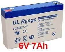 6V 7Ah 7,2Ah Ah 6Volt Akku Batterie  Elektrofahrzeuge Kinderspielzeug