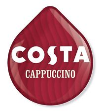 8 x Tassimo Costa Cappuccino T Discs Pods - 8 T Discs Sold Loose 4 Large Drinks