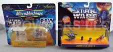 Star Wars Micro Machines X-Ray Fleet #1 & Shadow of Empire #2 '96 Galoob NiB