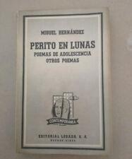 PERITO EN LUNAS, MIGUEL HERNÁNDEZ, LOSADA 1963, LIBRO