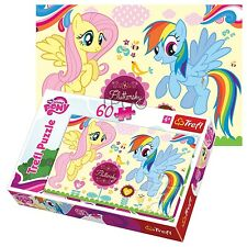 Trefl 60 Piece Kids Girls My Little Pony Rainbow Dash Fluttershy Jigsaw Puzzle
