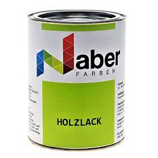 (12,99 €/L) 1 L -  Holzlack -  Ral 7015 - Schiefergrau - SEIDENGLANZ