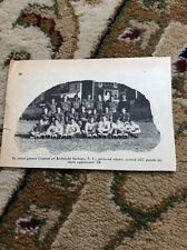 Q1-a-a Ephemera 1940 Picture Usa Football Central Richfield Springs New York