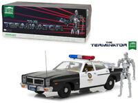 1977 Dodge Monaco / T-800 Figure From The Terminator 1:18 Diecast Model - 19042