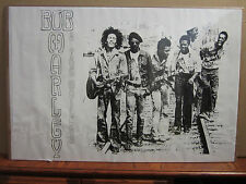 Bob Marley and the wailers Poster  black and white  5318