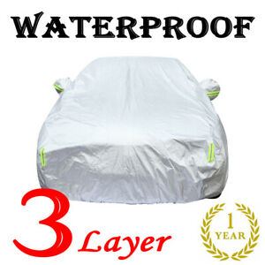 Full Car Cover Outdoor Waterproof Sun Snow Protector For TOYOTA Corolla 08-20 US