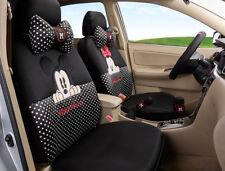 18pcs women love Carton Mickey Mouse car seat cover Four seasons seat covers 08M