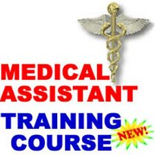 Medical Assistant Anatomy Training Instruction Manual Course CD