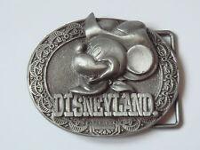 Rare boucle de ceinture métal collector MICKEY FAR WEST DISNEYLAND Paris NEUVE