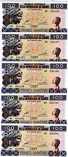 LOT, Guinea, 5 x 100 Francs, 2012, P-New, UNC > colorful