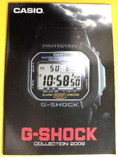 Casio G-Shock 2009 Collection Book Watch Catalog