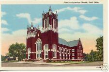 First Presbyterian Church ~ ENID Oklahoma ~ LINEN